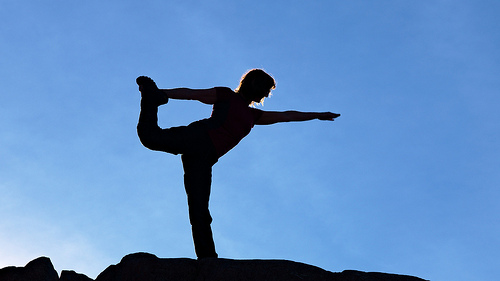yoga. Tomas Sobek