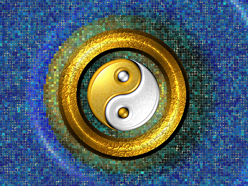 yin yang. MAMJODH